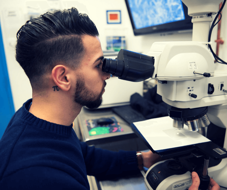 Learn about our Microscopy Lab