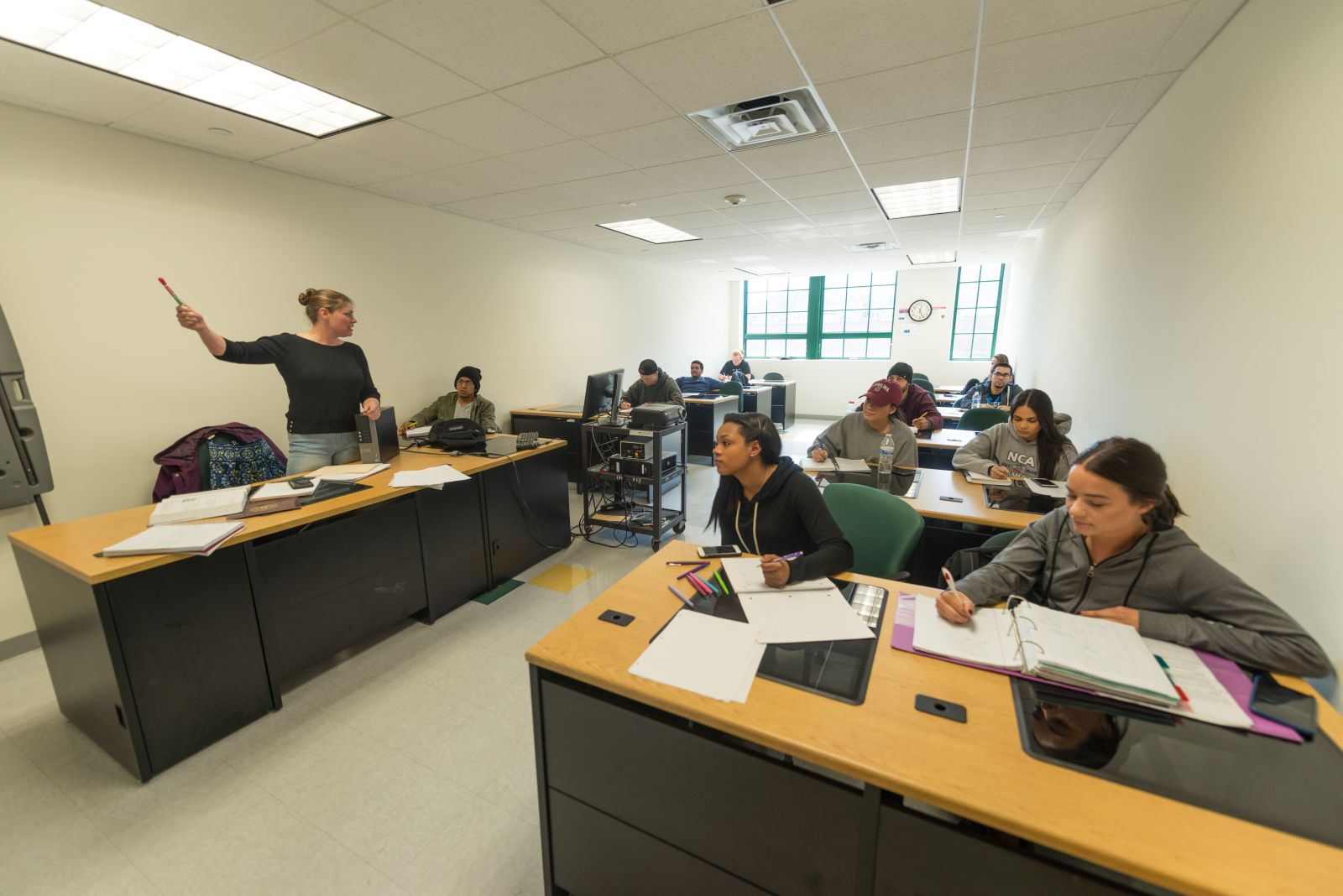 Class at the Haverstraw Center at SUNY Rockland