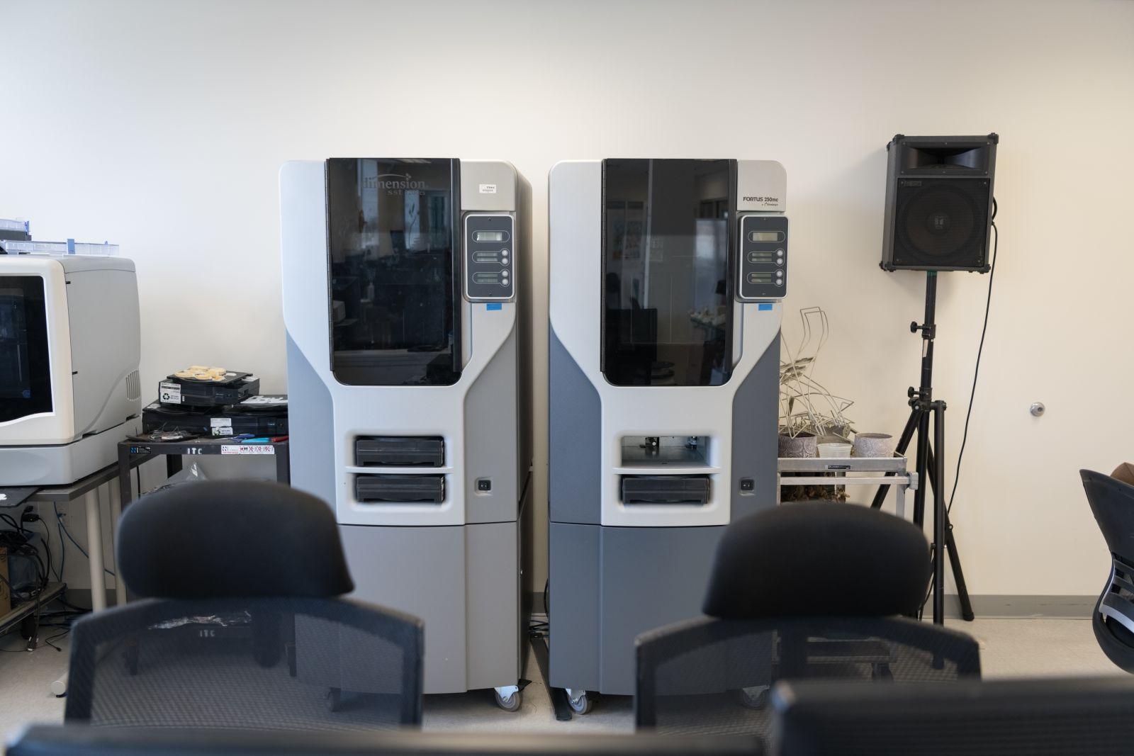 Fortus 3D printers