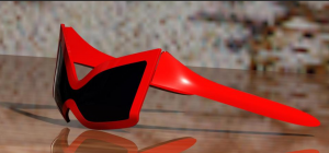 Kayla Marchand an engineer at Fala Technologies thinks encouraging design thinking can bring kids into careers in Advanced Manufacturing. Here, are a pair of Spiderman sunglasses. Source: GrabCADcad, Michele Cantatore.
