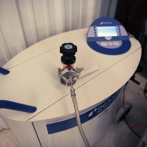 T-SEC's helium leak detector on site at Ceres Technologies. This is also available for use by other advanced manufacturers in the Hudson Valley and throughout New York State.