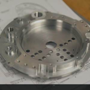 Beautifully machined part made by Ceres Technologies in Saugerties