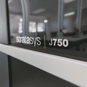 Stratasys J750 at the 3D SMARTT Lab at Rockland Community College's Haverstraw Center