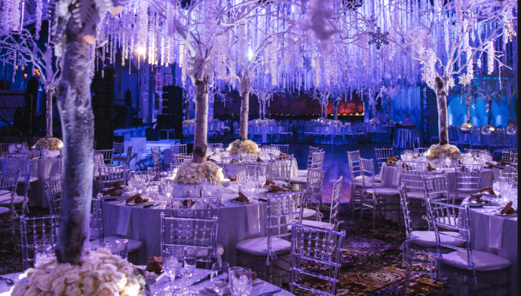 Imaginative rooms are popular with couples looking for a wedding venue